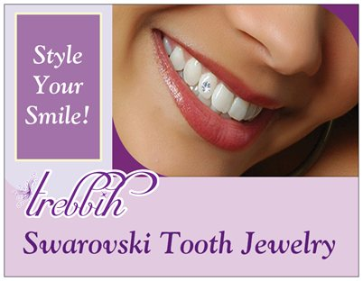 Trebbih - Tooth Jewelry post cards